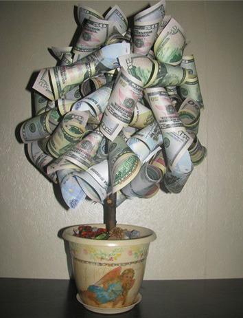 Талисман из денег своими руками 78